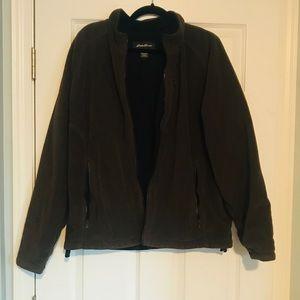 Eddie Bauer heavy duty fleece jacket